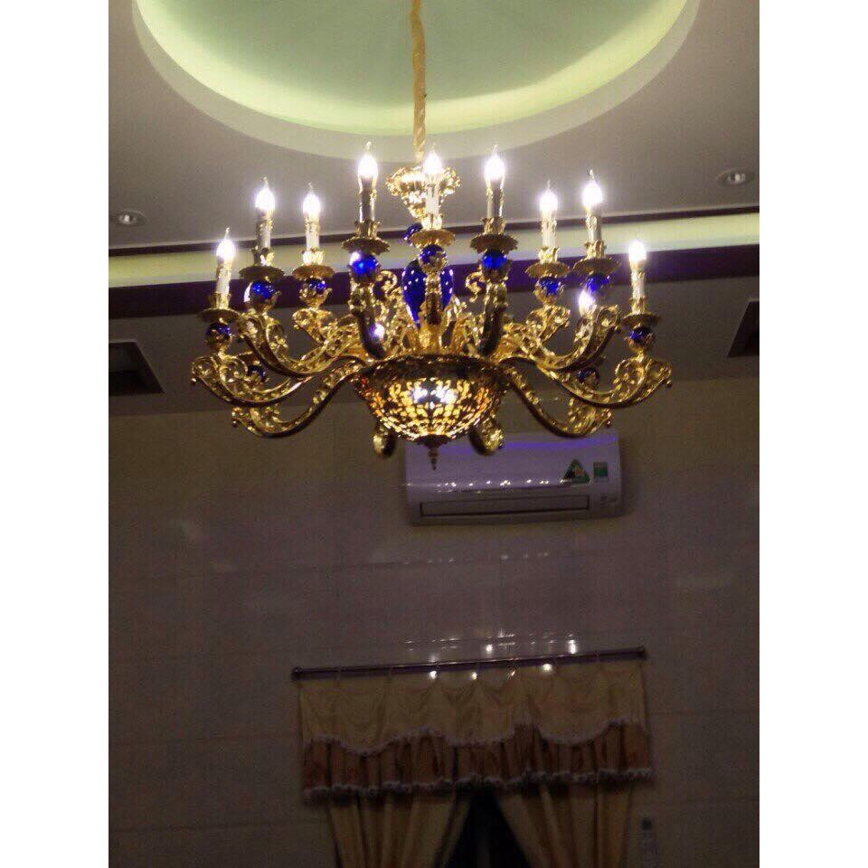 Đèn Chùm CELESTIAL Pha Lê Phong Cách Hoàng Gia Trang Trí Phòng Khách, Nhà Hàng, Khách Sạn