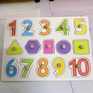 Thanh lý bảng gỗ con số