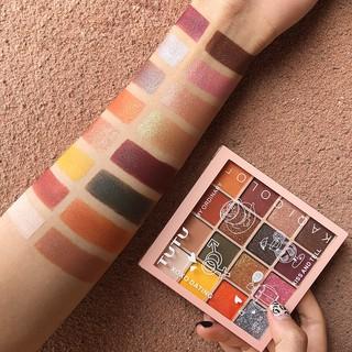 Phấn Mắt TuTu , Yancai 16 Ô KaQi Color Eyeshadow Palette Hàng Nội Địa Trung thumbnail