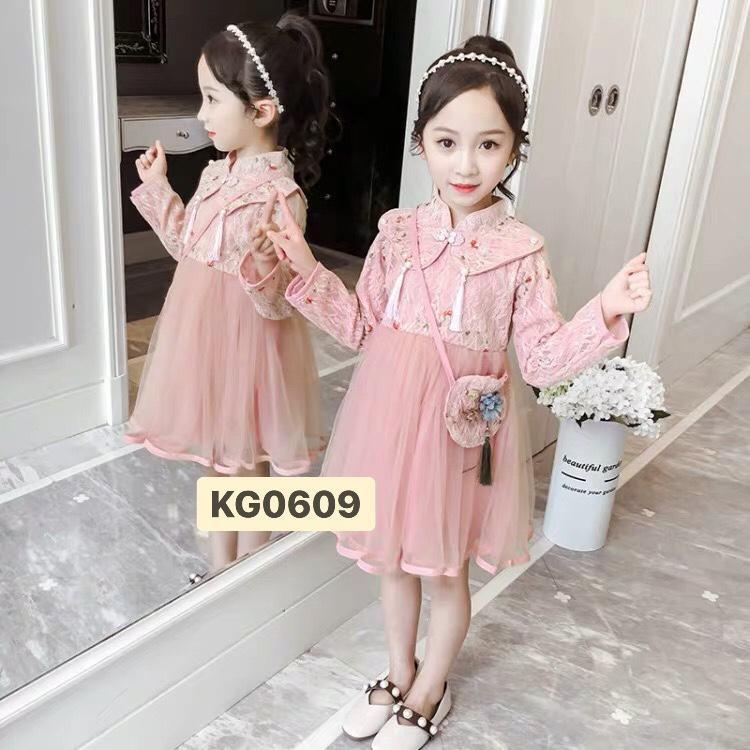 Đầm Thượng Hải tay dài