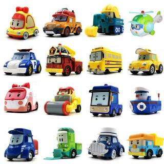 New 19 Styles Robocar Poli Mini Vehicle Car Bus Toys South Korea Kids Gift Toy