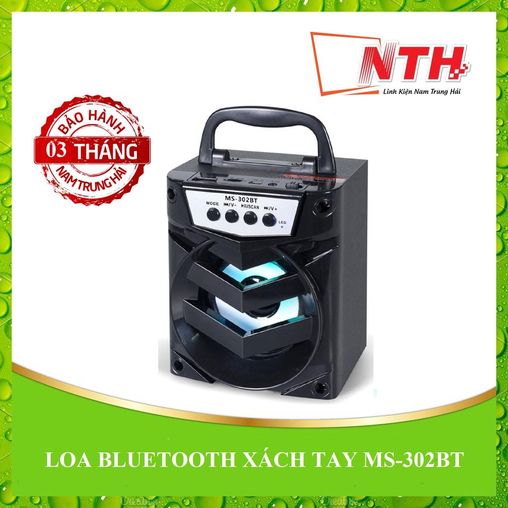 [NTH] LOA BLUETOOTH XÁCH TAY MS-302BT