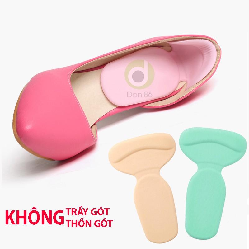 1 cặp lót gót giày cao gót/ giày búp bê - Chống trầy chân - Loại 1/2 bàn chân_PK09