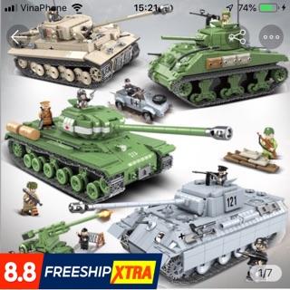 LEGO Xe tăng hàng cao cấp