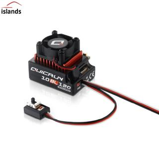Hobbywing QUICRUN 10BL120 Sensored 120A / 10BL60 Sensored Brushless ESC Speed Controller For 1/10