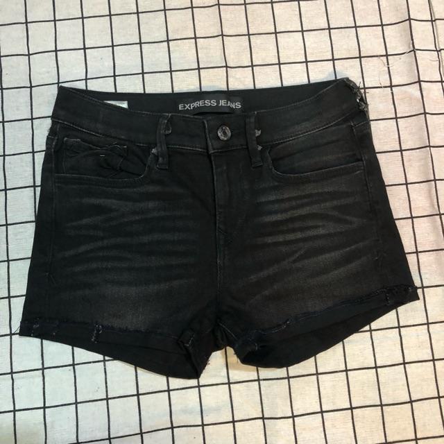 FREESHIP 99K TOÀN QUỐC_Quần shorts bò nữ màu đen