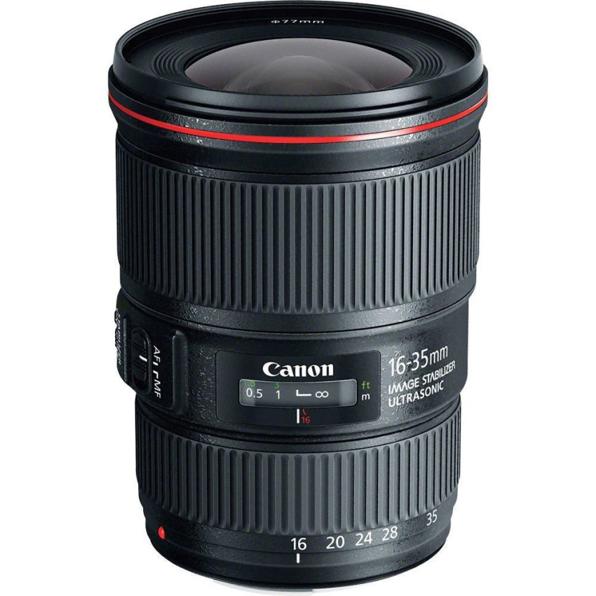 Ống kính Canon 16-35mm F4L IS USM (Đen) - Hàng nhập khẩu