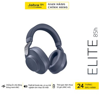 Tai Nghe Không Dây, Bluetooth Chụp Tai On-ear Jabra Elite 85h - Hàng Chính Hãng
