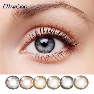 Kính áp tròng Elliecoo Series Flower đường kính 14.5mm nhiều màu sắc tùy chọn sử dụng trong nửa năm thumbnail