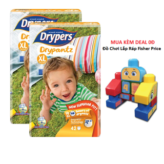 Tã quần Drypers Drypantz XL42
