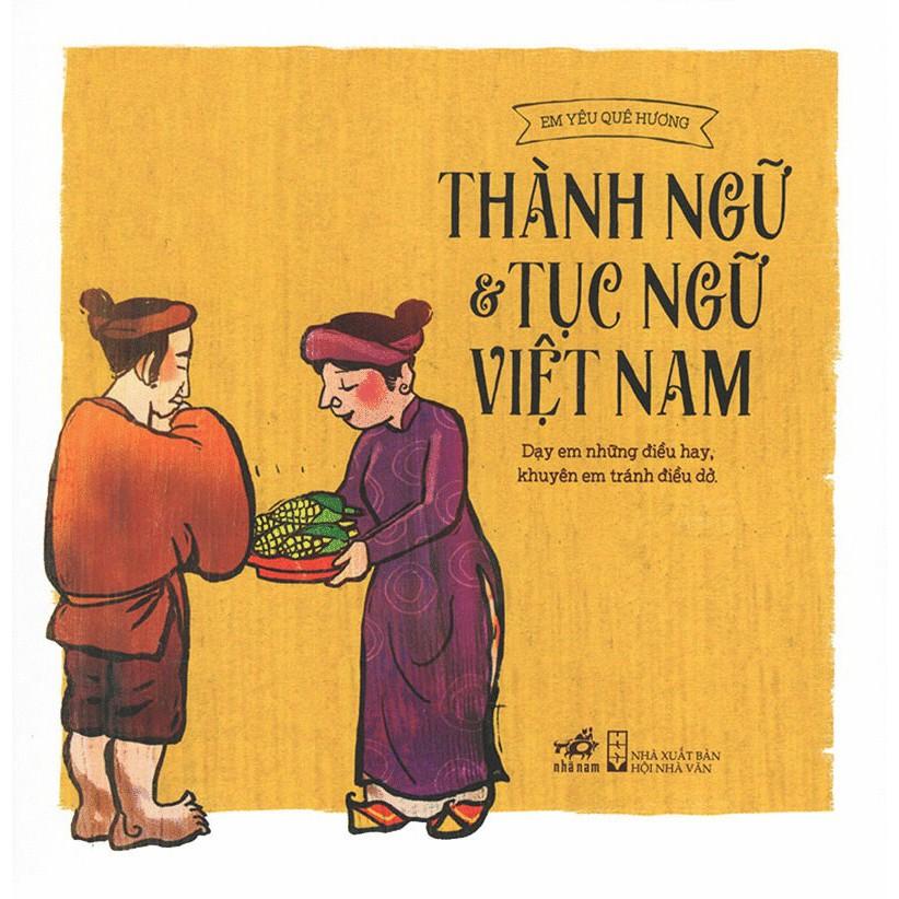 Sách - Thành Ngữ Và Tục Ngữ Việt Nam