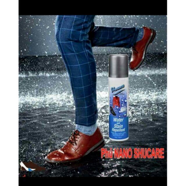 Bình xịt nano bảo vệ giày da, chống thấm nước