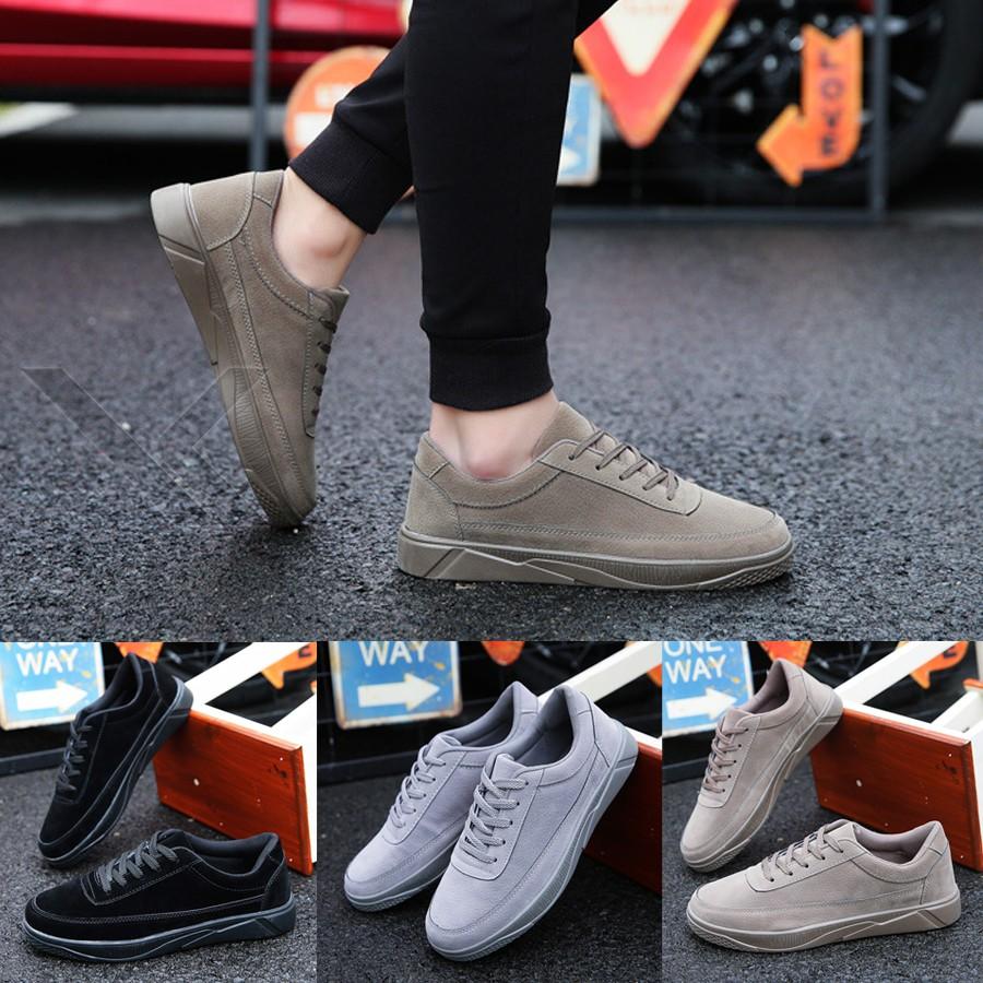 Giày Nam sneaker da lộn sang