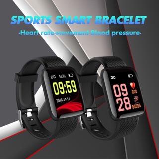 Đồng hồ thông minh Smart Watch 116 plus chống nước theo dõi vận động hỗ trợ theo dõi sức khỏe
