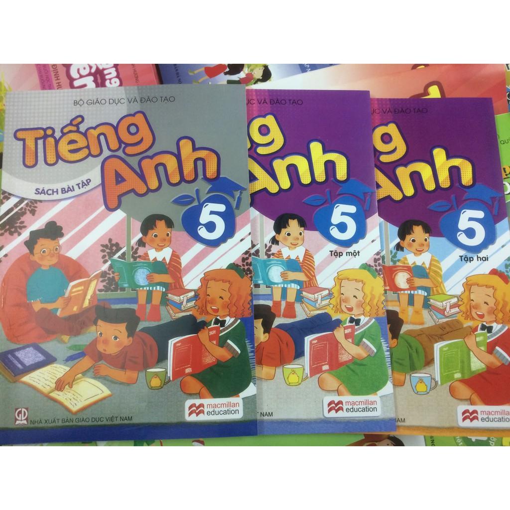 Bộ sách tiếng anh lớp 5 (bộ 3 cuốn)