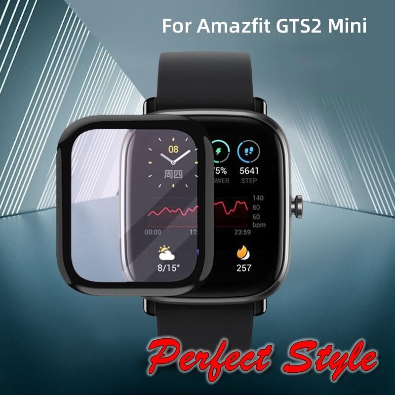 Miếng Dán 3D Full màn Bảo Vệ Mặt Đồng Hồ Thông Minh Amazfit GTS 2 Mini chống xước