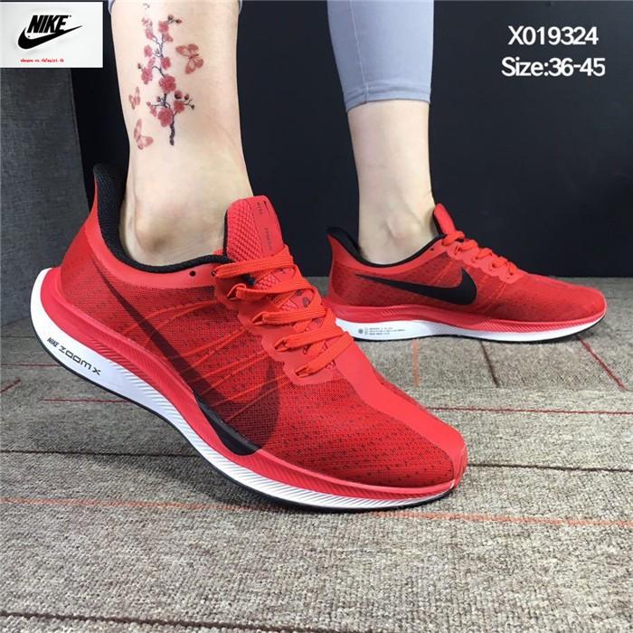ของแท้💫 NIKE💫 ZOOM PEGASUS 35 TURBO รองเท้าผู้ชาย รองเท้าผู้หญิง รองเท้ากีฬา รองเท้าวิ่ง นันทนาการ ระบายอากาศ