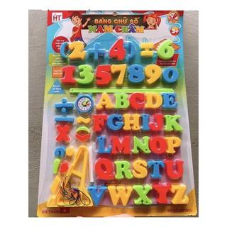 bảng chữ số nam châm loại to