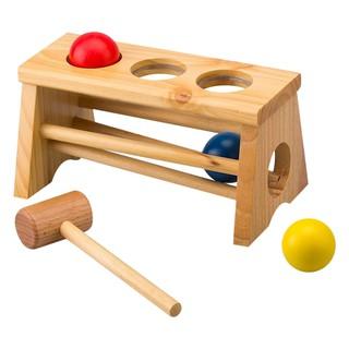 Đồ chơi gỗ Bộ Búa 3 Bi