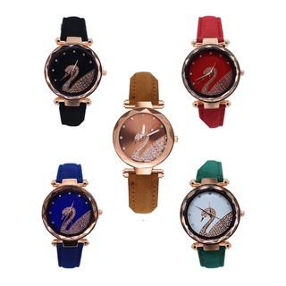 (Giá sỉ)Đồng hồ thời trang nữ SHSHD dây da nhung S1Q thumbnail