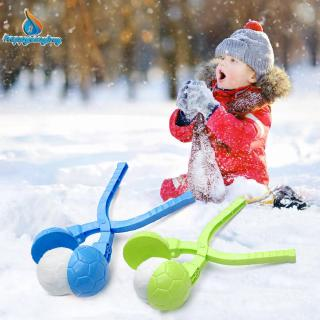3D Soccer Snowball Maker Mold Kid Winter Outdoor Snow Sand Making Mould Toy