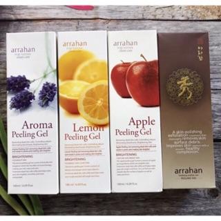 Gel tẩy da chết Hoa quả Trắng da ARRAHAN Whitening Peeling Gel - Hàn Quốc