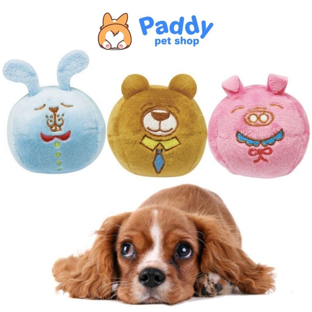 [Mã PETHOT giảm 8% đơn 199K] Banh thú nhồi bông đồ chơi cho chó DoggyMan