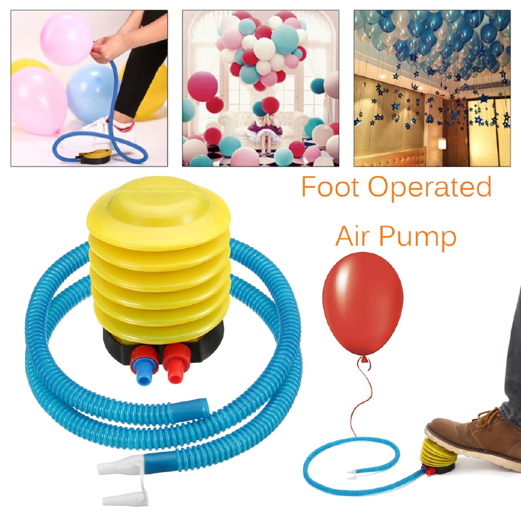 Inflator Foot Air Pump for Air Pillow Balloon Swimming Rings Inflatable Toy Ball
