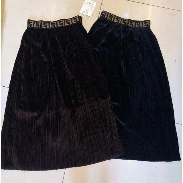 Chân váy nhung F. Endi cao cấp (kèm ảnh