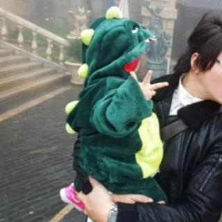 Bộ đồ thú đồ ngủ khủng long xanh / cá sấu cho trẻ em bé | FREESHIP| GIẢM GIÁ 25K ĐƠN HÀNG TRÊN 500K