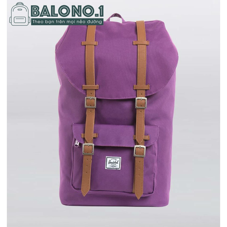 Balo Herschel Little America Purple Backpack