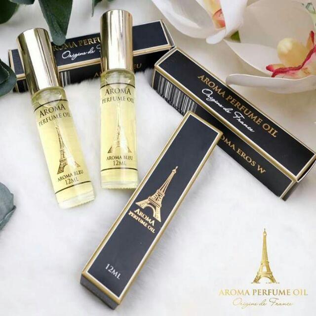 Tinh dầu Nước hoa chính hãng Aroma 12ml