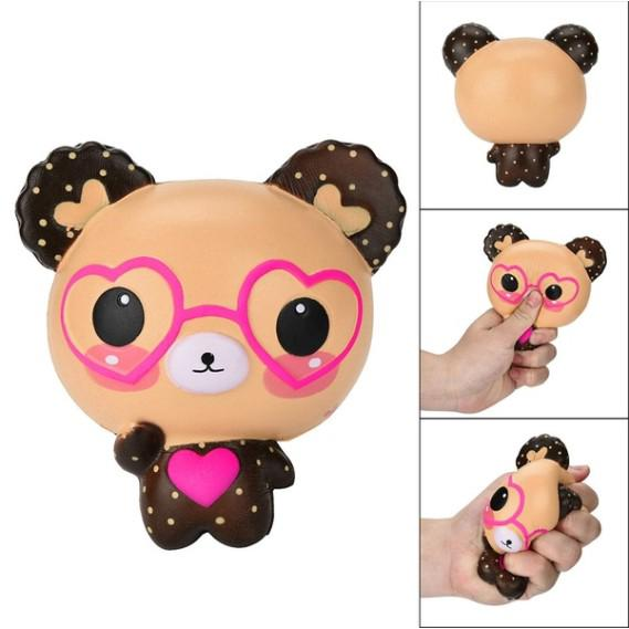 Kid toy squeeze love bear toy