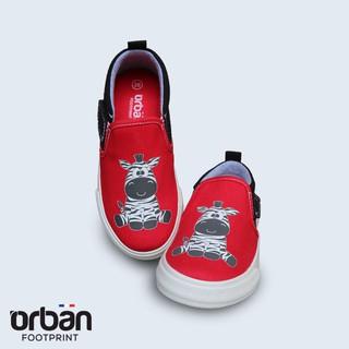 [Mã KIDMALL15 hoàn 15% xu đơn 150K] Giày Slipon bé trai Urban UB1902 đỏ