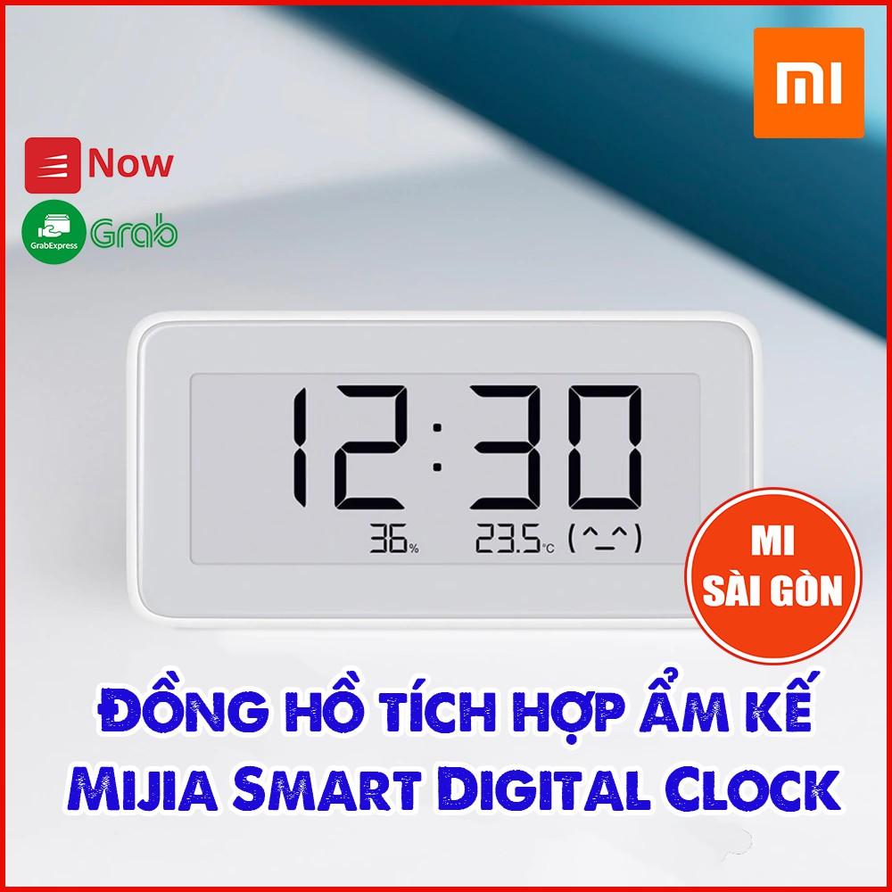 Nhiệt kế & độ ẩm - đồng hồ Mijia Smart Clock năm 2019