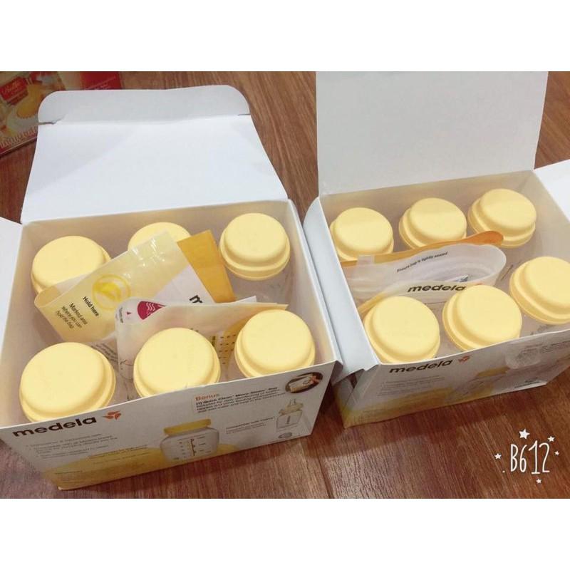 Bộ 6 bình trữ sữa Medela 150ml chính hãng ( Tặng kèm 1 túi tiệt trùng lò vi sóng) - 2651926 , 1081192568 , 322_1081192568 , 480000 , Bo-6-binh-tru-sua-Medela-150ml-chinh-hang-Tang-kem-1-tui-tiet-trung-lo-vi-song-322_1081192568 , shopee.vn , Bộ 6 bình trữ sữa Medela 150ml chính hãng ( Tặng kèm 1 túi tiệt trùng lò vi sóng)