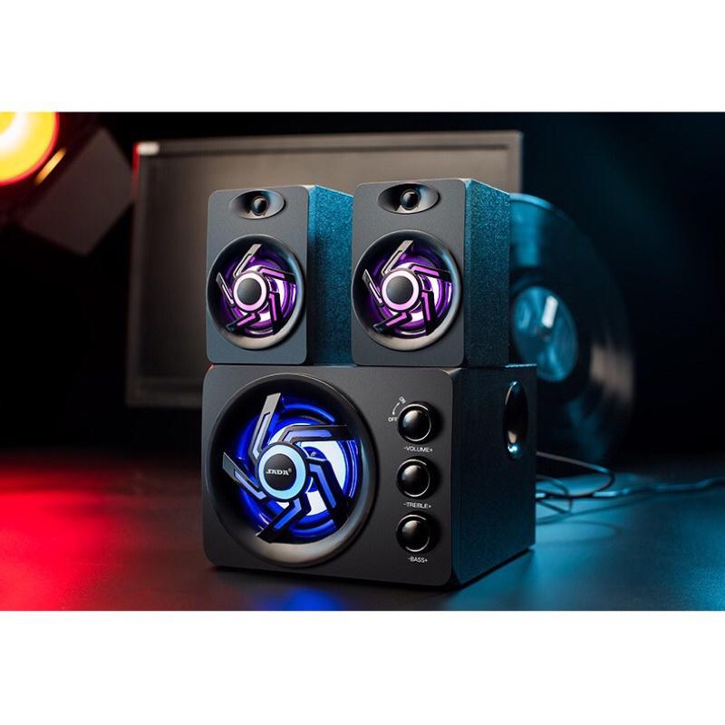 [Mã 267ELSALE hoàn 7% đơn 300K] Loa máy tính SADA D209 led RGB