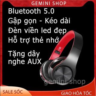 Tai Nghe Bluetooth Chụp Tai Hỗ Trợ Thẻ Nhớ, Âm Bass Khỏe Có Thể Gập Lại B3