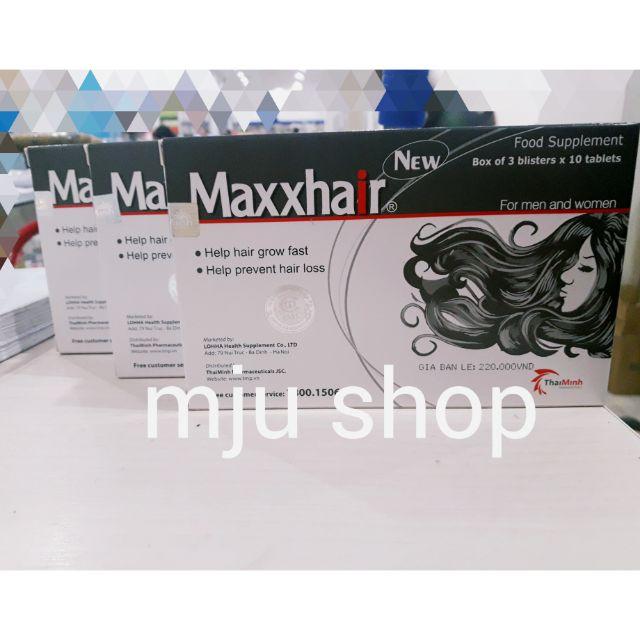 Maxxhair - ngăn rụng tóc, giúp tóc mọc nhanh ( hàng chuẩn) - 2888262 , 524329505 , 322_524329505 , 194000 , Maxxhair-ngan-rung-toc-giup-toc-moc-nhanh-hang-chuan-322_524329505 , shopee.vn , Maxxhair - ngăn rụng tóc, giúp tóc mọc nhanh ( hàng chuẩn)