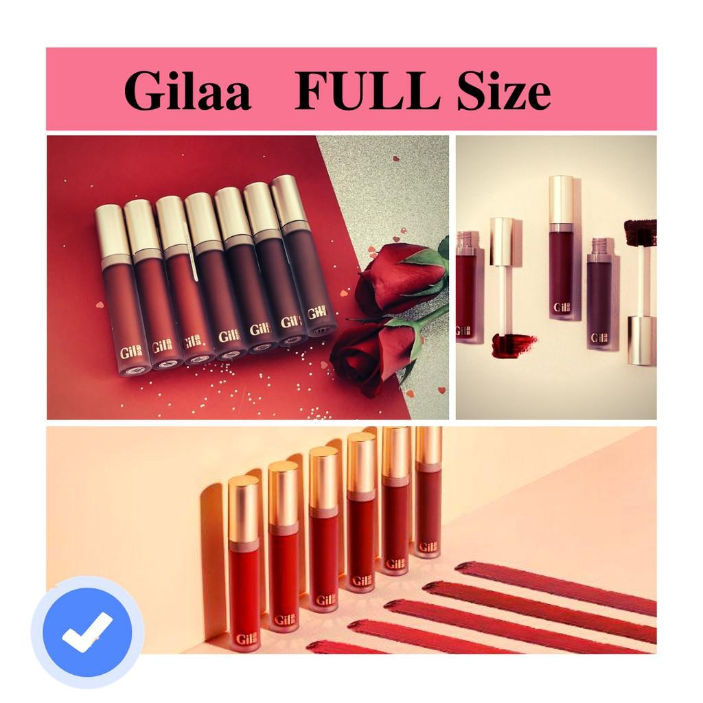 Son Gilaa long wear lip cream (bản full son kem lì)