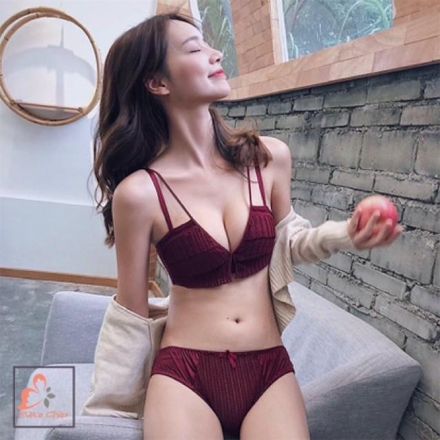 Áo Lót Sexy Girl Ren Đan Không Gọng Sexy Girl Siêu Hot