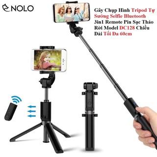 Gây Chụp Hình Tripod Tự Sướng Selfie Bluetooth 3in1 Remote Tháo Rời Model K07 Chiều Dài Tối Đa 60cmGậy chụp hình thumbnail