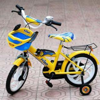 Xe đạp hàng khuyến mãi sữa Friso cho bé 3-5 tuổi