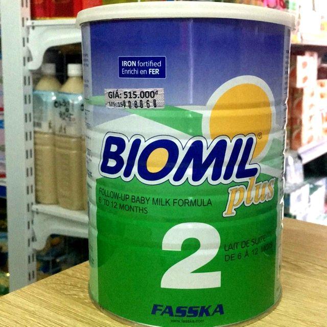( NHẬP MÃ TKB0718W2B giảm tối đa 20k )Sữa Biomil plus số 2 800g