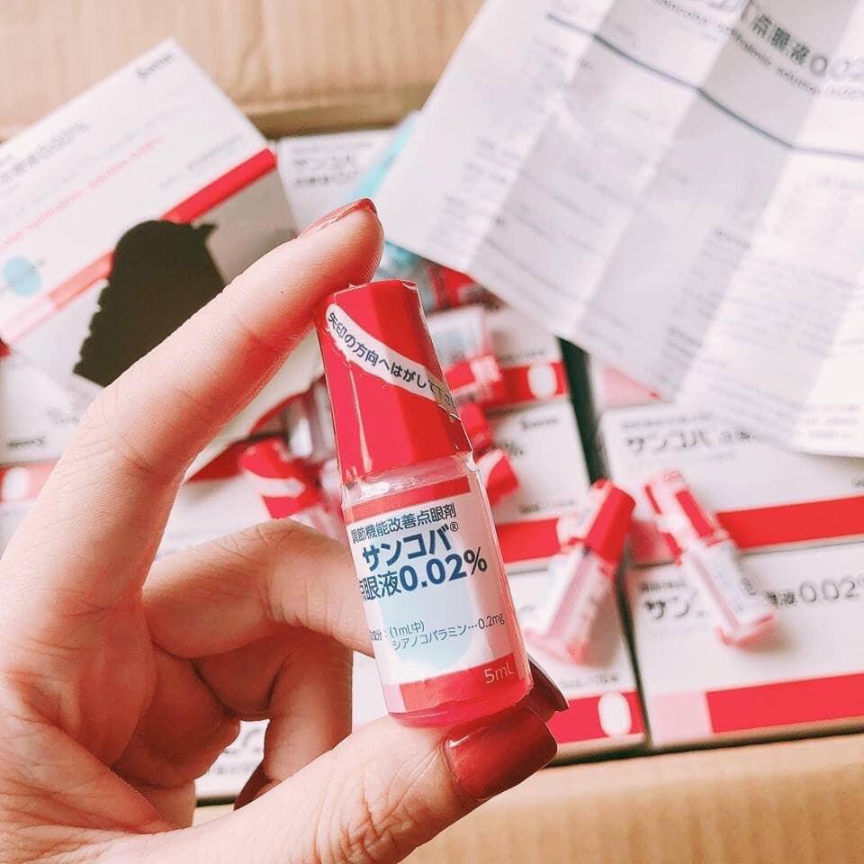 Thuốc Nhỏ mắt phục hồi thị lực Sancoba Nhật Bản
