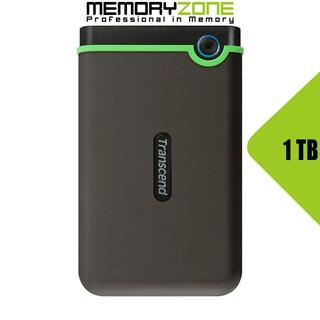 Ổ cứng di động Transcend StoreJet Slim 25M3S 1TB TS1TSJ25M3S - Bảo hành 2 năm