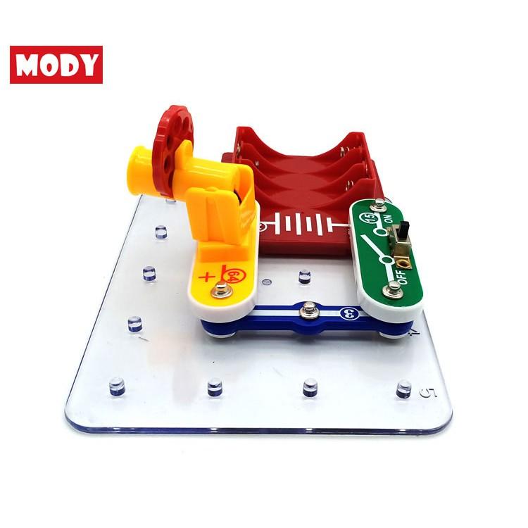 Bộ đồ chơi khoa học và giáo dục Stem lắp ráp máy chiếu phim Mody MD3310