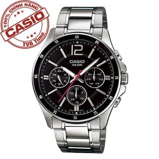 Đồng hồ nam dây thép không gỉ Casio Standard chính hãng Anh Khuê MTP-1374D-1AVDF
