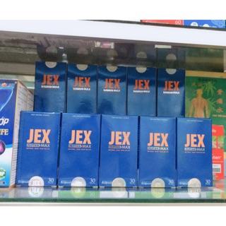 JEX MAX giảm đau nhức xương khớp 30v