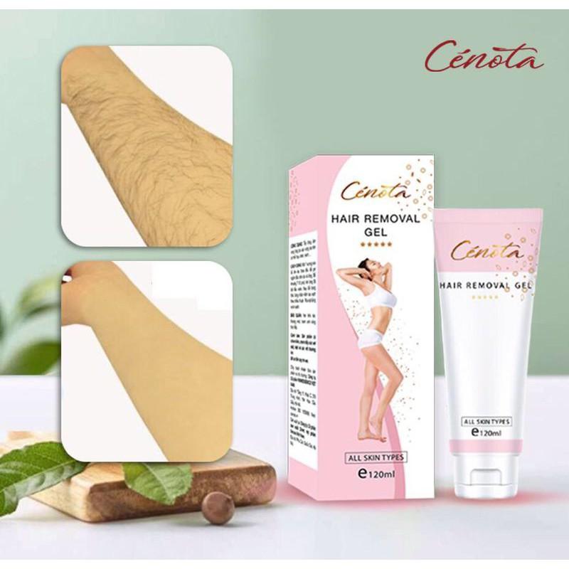 Kem tẩy lông Cénota, kem tẩy lông body, giúp giữ ẩm không gây đau rát cho da - C09